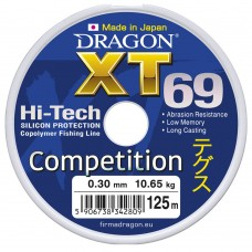 Леска Dragon XT69 HI-Tech Competition 125м