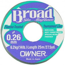 Леска Owner Broad 25м