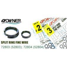 Заводные кольца Owner 52804 Ring Fine Wire