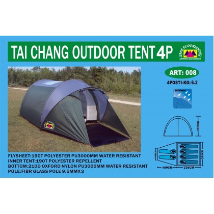 Палатка 6-ти местная Safe Flourishing art:008