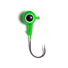 Джиг окрашенный Шар (зелёный)