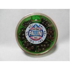 Набор грузил Pallini 110г, 0.3-1.5г
