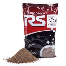 Прикормка RS Карп мелкого помола (чёрная) 1кг