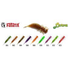 Силиконовая приманка Fanatik Larva 2.5