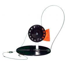 Жерлица зимняя Manko оснащенная на диске 180мм (катушка 90мм)